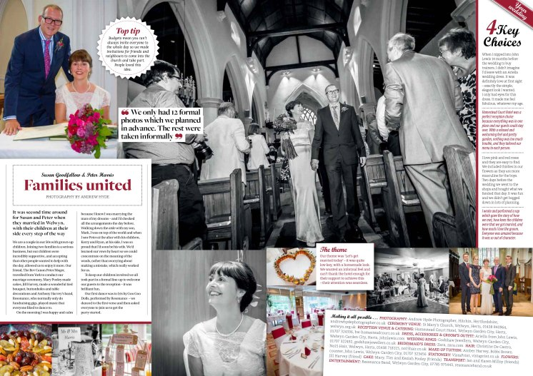 The double-page spread featuring my photography (Copyright 2016 Archant)